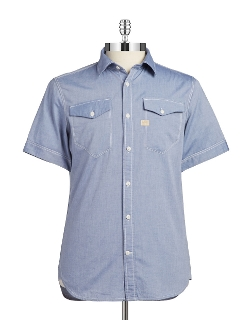 G-Star Raw - Chambray Sportshirt