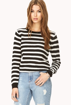 Forever 21 - Laid Back Striped Sweater