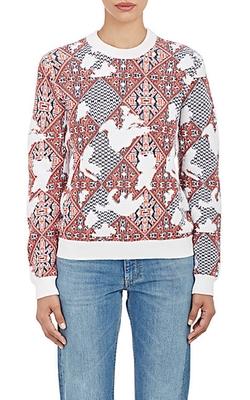 SEA  - Geometric-Print Sweater