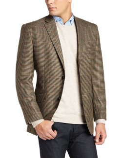Haggar  - Houndstooth Windowpane Blazer