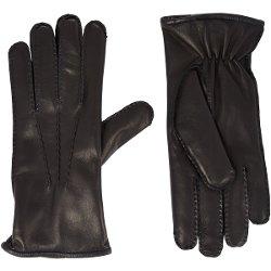 Barneys New York - Fur-Lined Gloves