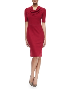 Escada - Cowl-Neck Dress