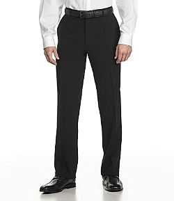 Boss Hugo Boss - Tailored Classic-Fit Flat-Front Wool Dress Pants