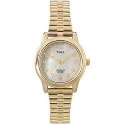 Timex - Gold-Tone Expansion Band Watch