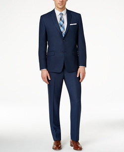 Marc New York by Andrew Marc - Slim-Fit Solid Suit