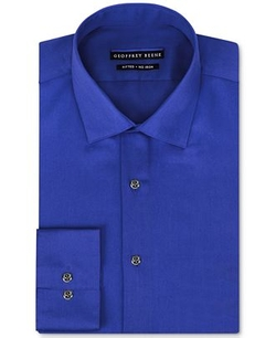 Geoffrey Beene  - Stretch Sateen Solid Dress Shirt