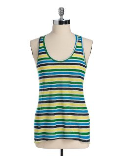 C&C California - Last Stop Striped Tank Top
