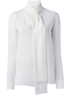 Givenchy - Neck Tie Blouse
