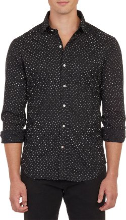 Ralph Lauren Black Label  - Mini Floral-print Voile Shirt