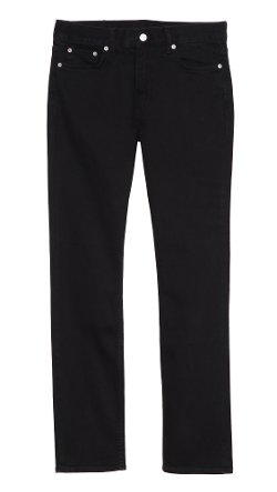 Blk Dnm - Slim Fit Classic Raw Jeans
