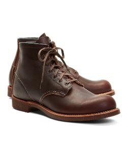 Red Wing for Brooks Brothers  - Brown Pebble Leather Boots