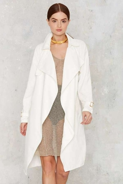 Nasty Gal - Trench Warmer Belted Coat