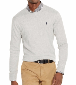 Polo Ralph Lauren - Slim-Fit Pima Crewneck Sweater