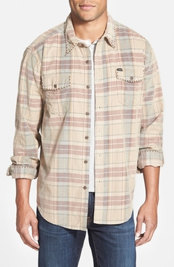 True Grit  - Dakota Canyon Plaid Corduroy Shirt