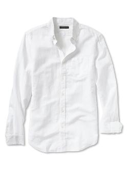 Banana Republic - Slim-Fit Linen/Cotton Button-Down Shirt