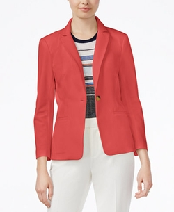 Rachel Rachel Roy - Notched-Collar One-Button Blazer
