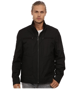 Buffalo David Bitton -  Polyester Zip Front Open Bottom Jacket