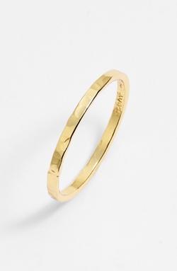 Argento Vivo - Hammered Skinny Ring