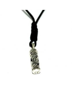 Mizze - Sterling Silver Mezuzah Necklace