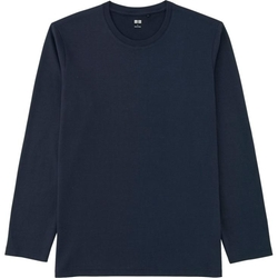Uniqlo - Crewneck Long Sleeve T-Shirt