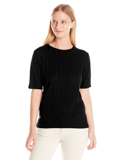 Alfred Dunner - Missy Short Sleeve Sweater