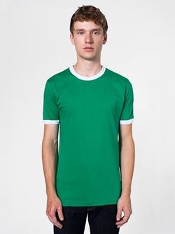 American Apparel - Jersey Short Sleeve Ringer T-Shirt