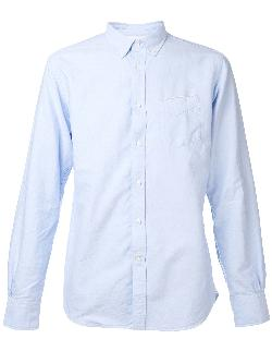 OFFICINE GENERALE  - button down shirt