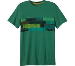 Prana  - Printed Ridge Tech T-Shirt