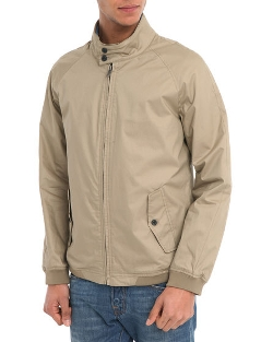 Selected - Iconic Beige Harrington Jacket