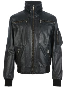 MCQ by Alexander McQueen  - Leather Jacket