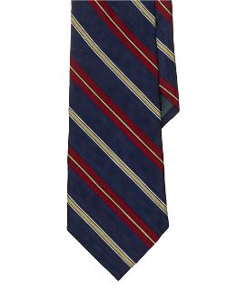 Lauren by Ralph Lauren  - Striped Silk Repp Tie