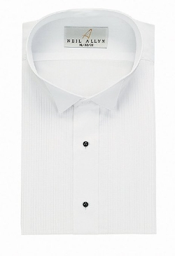 Neil Allyn - Tuxedo Shirt Wing Collar