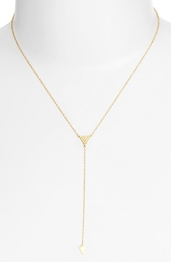 Argento Vivo  - Triangle Station Y-Necklace