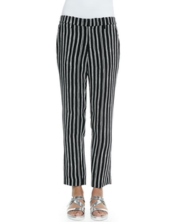A.L.C. - Levin Striped Ankle Pants