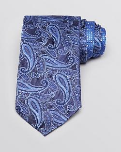 Canali  - Pine Paisley Classic Tie
