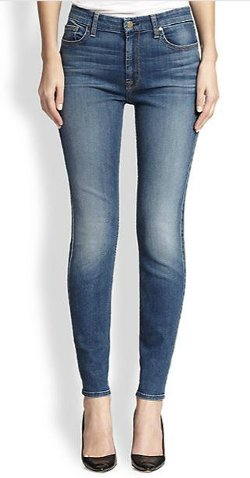 Jen7  - Medium Wash Skinny Jeans