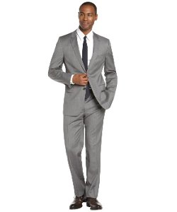 Hugo Boss - Striped Wool 2-Button Suit