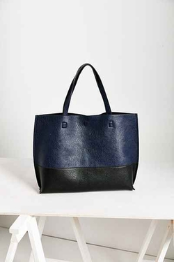 Urban Outfitters - Reversible Vegan Leather Tote Bag