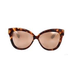 Linda Farrow - Chunky Cat Eye Sunglasses