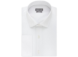 Kenneth Cole Reaction - Slim-Fit Solid French Cuff Shirt