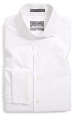 John W. Nordstrom - Trim Fit French Cuff Tuxedo Shirt