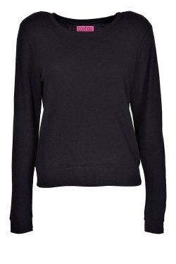 Boohoo - Sienna Rib Sweatshirt