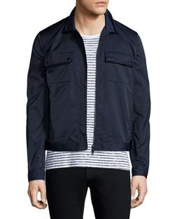ATM Anthony Thomas Melillo  - Tech Zip-Up Shirt Jacket