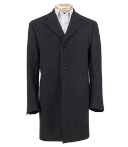 Jos. A. Bank - 3/4 Traveler Tailored Fit Mini Box Topcoat
