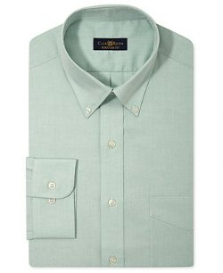 Club Room Estate  - Wrinkle Resistant Solid Dress Shirt
