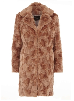 Dorothy Perkins - Faux Shearling Coat