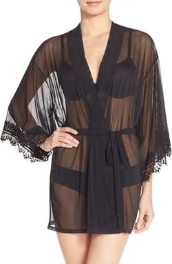 Josie  - Mesh Happi Coat Robe