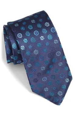 Bugatchi - Medallion Silk Tie