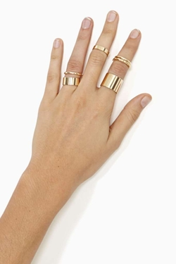 Nasty Gal - Chronicle Ring Set