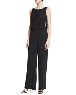 Trina Turk - Sleeveless Wide-Leg Jumpsuit